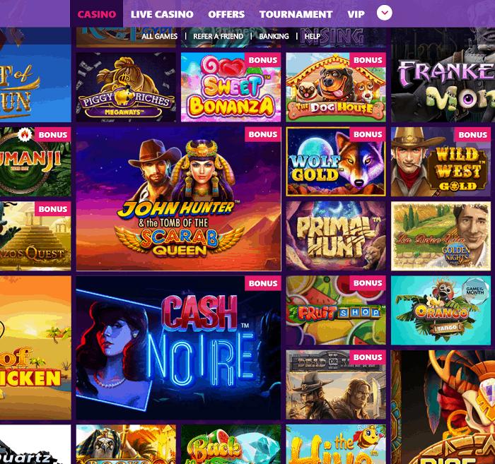Wintika Casino Review Bonus