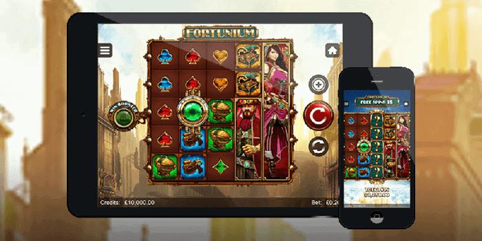 Fortunium Gold mobile slot