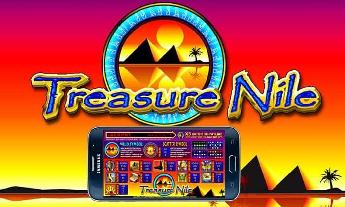 Treasure Nile jackpot free spins bonus