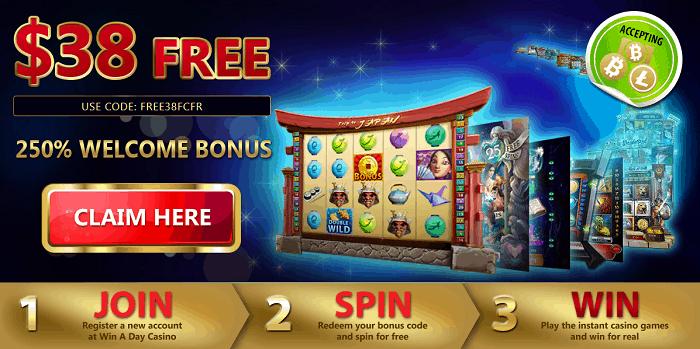 $38 free chip bonus