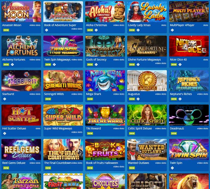 Eskimo Casino Website Review