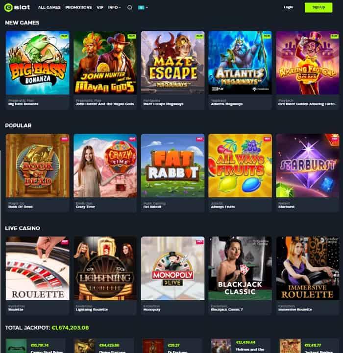 GSlot Casino Website Review