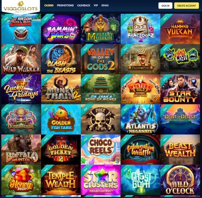 Viggoslots Casino Free Spins Bonus