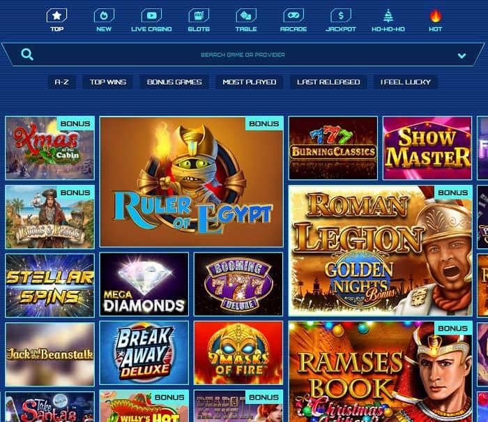 WinZinator Casino Website Review