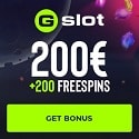 GSlot Casino 200 free spins and $/€200 Welcome Bonus