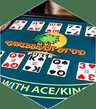 Poker Hands in Caribbean Stud Poker: