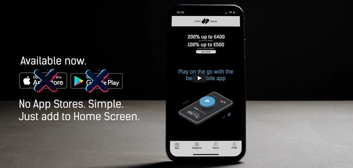 CasinoSinners Mobile Casino App