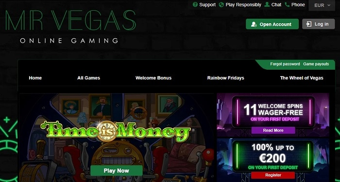 Play best online casino games now