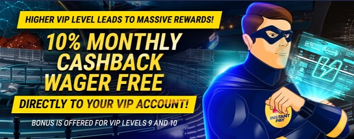 Monthly Cashback