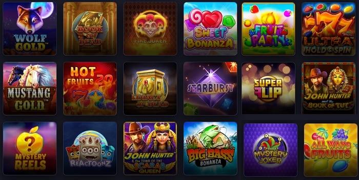 Praise Casino Games
