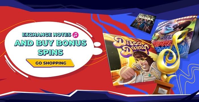 Buy Spins Promo