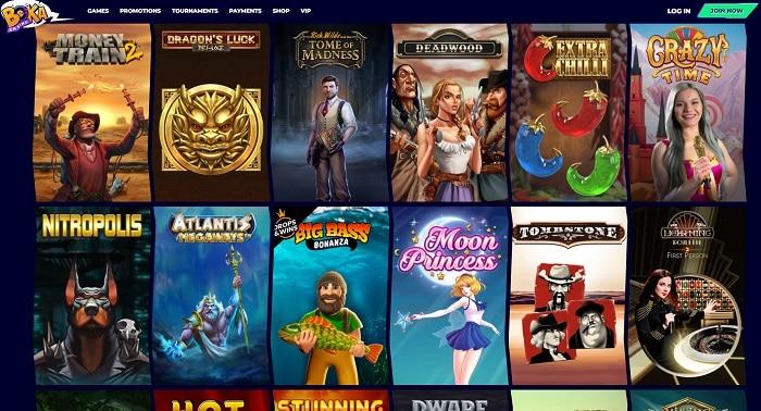 Boka Casino Games