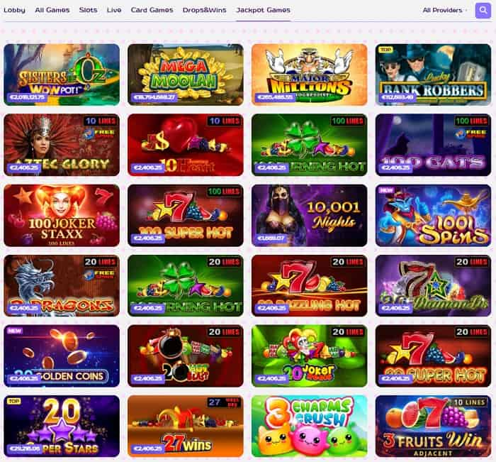 Join Kim Casino and play for free!