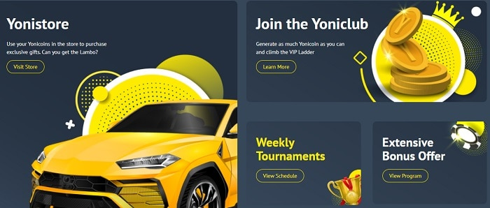 Yonibet Promotions