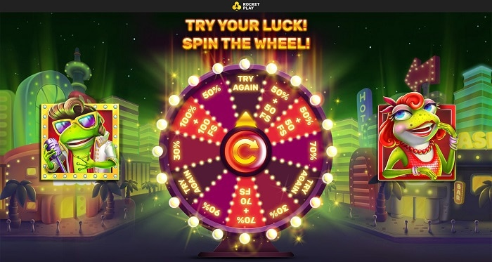Try Your Luck Spin The Wheel!