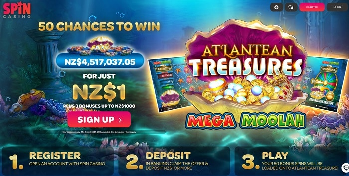 50 free spins jackpot