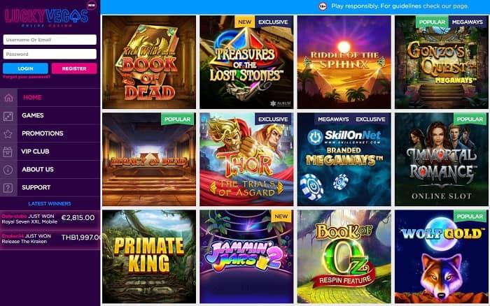 25 gratis spins on slots