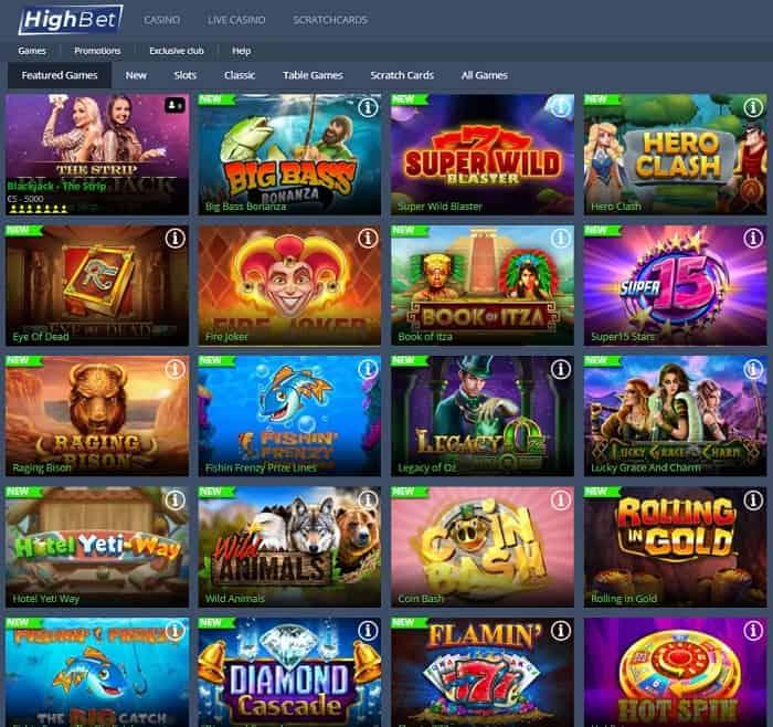 HighBet Casino Review