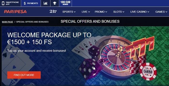 PariPesa Welcome Bonus