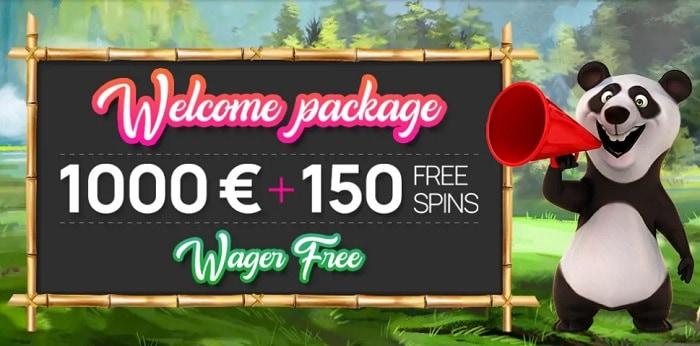 Fortune Panda welcome bonus
