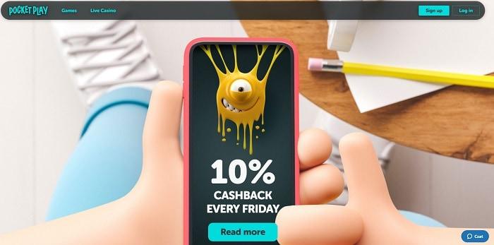 10% Cashback Every Day