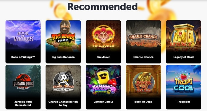 Best casino games to play!