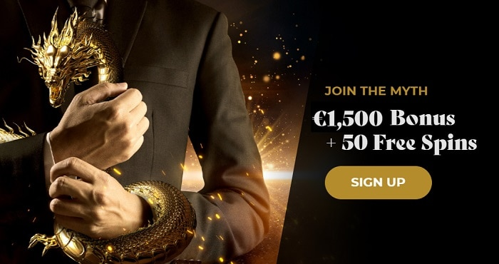 Welcome Offer 1500 EUR and 50 Free Spins