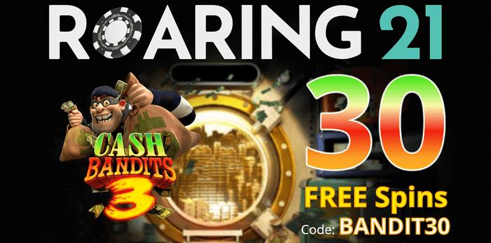 30 free spins on Cash Bandit