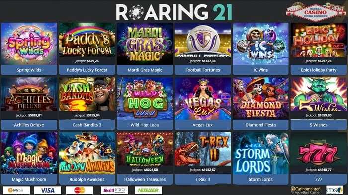 Roaring Casino free spins